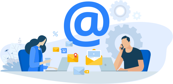 Use this email template to stay in touch with your audience