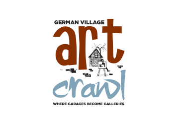 German Village Art Crawl Logo Design