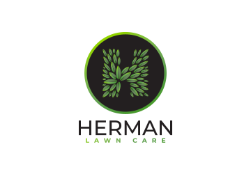 Herman Lawn Care Logo Design