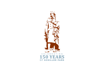 Schiller Park 150 Years Logo Design