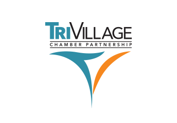 Tri Village Chamber Partnership Logo Design